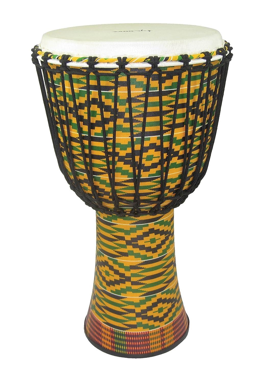Tycoon Percussion TFAJ-12K 12 Fiberglass Rope Tuned Djembe, Kente