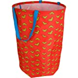 Wonder Woman Collapsible Kids Laundry Hamper by DC Comics - Pop up Portable Children's Clothes Basket for Closet, Bedroom, Boys & Girls Clothes - Foldable Laundry Bin with Strong Handles & Design