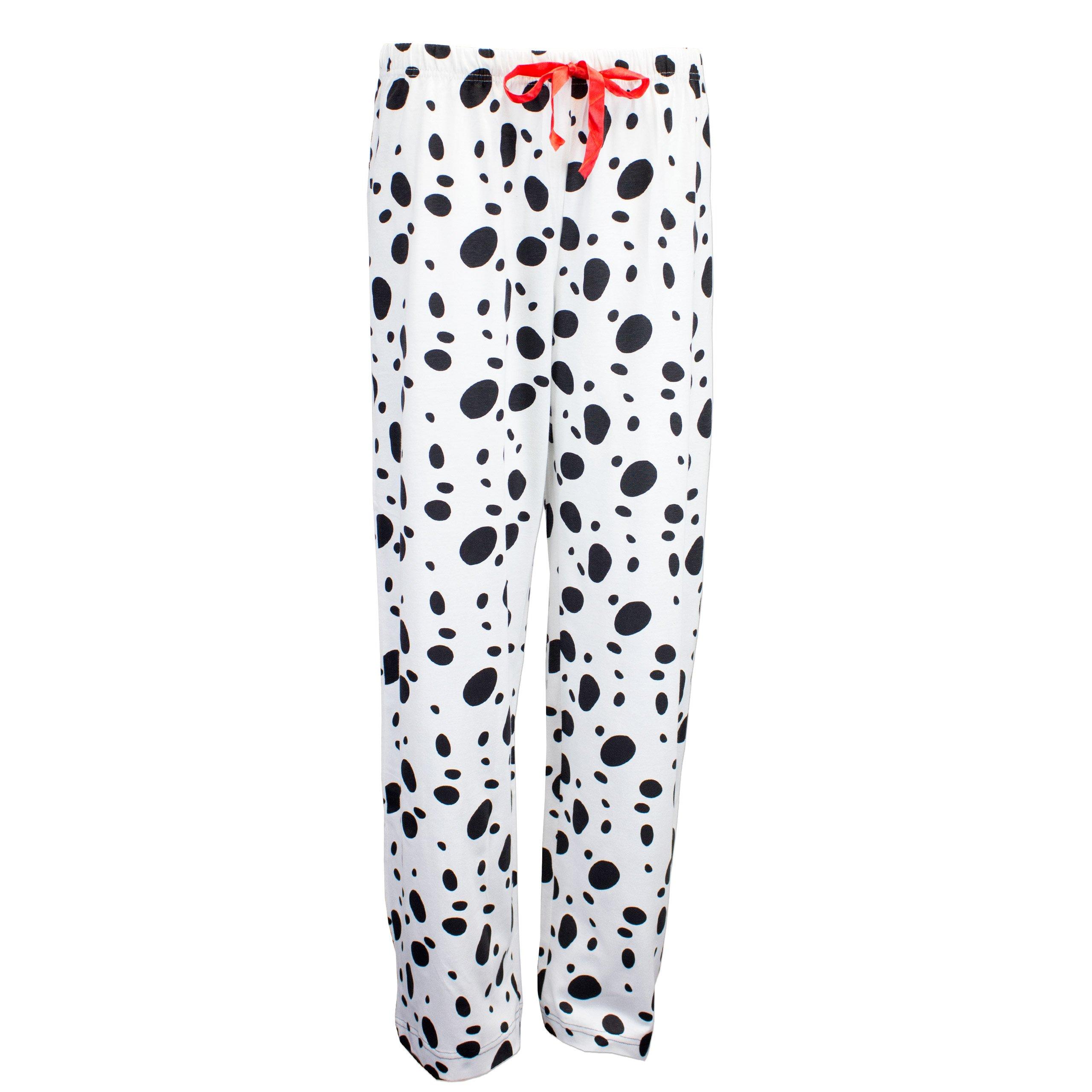 101 Dalmatians Womens' Disney 101 Dalmatians Pajamas White Size Small by Disney (Image #4)