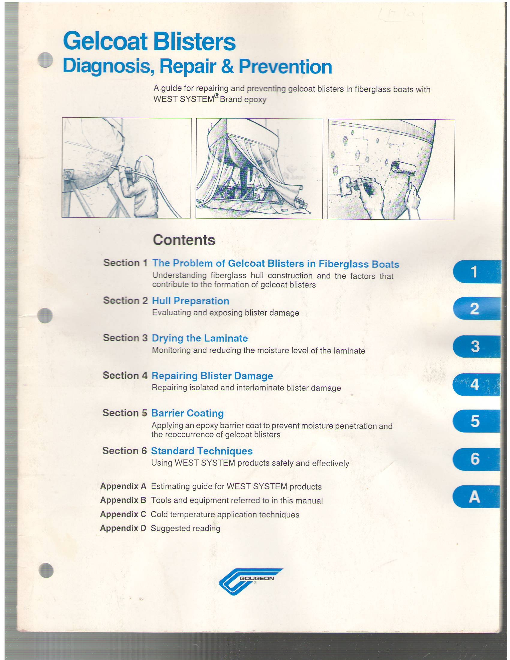 Gelcoat Blisters (Diagnosis, Repair & Prevention, 002-650
