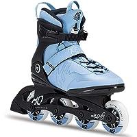 K2 Damen Fitness Inline Skates Alexis 80 Pro - schwarz-hellblau - 30C0817.1.1