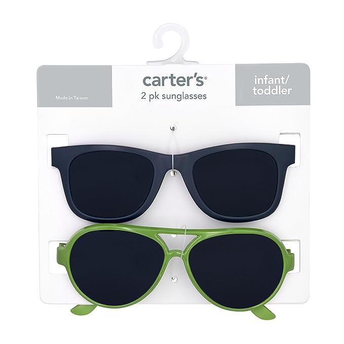 Amazon.com: Gafas de sol para bebé de Carters 100% Uva-uvb ...