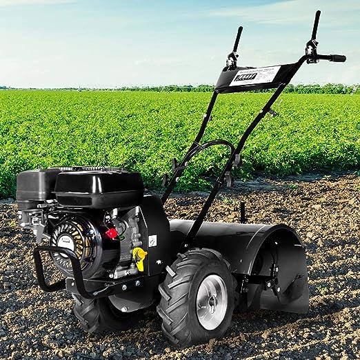 BRAST - Fresadora de jardín de gasolina, 5,15 kW (7,0 CV ...