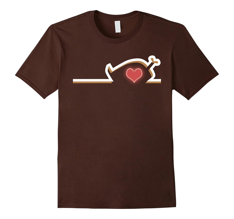 Love Thanksgiving T-Shirt Funny Turkey Costume Shirt-ANZ