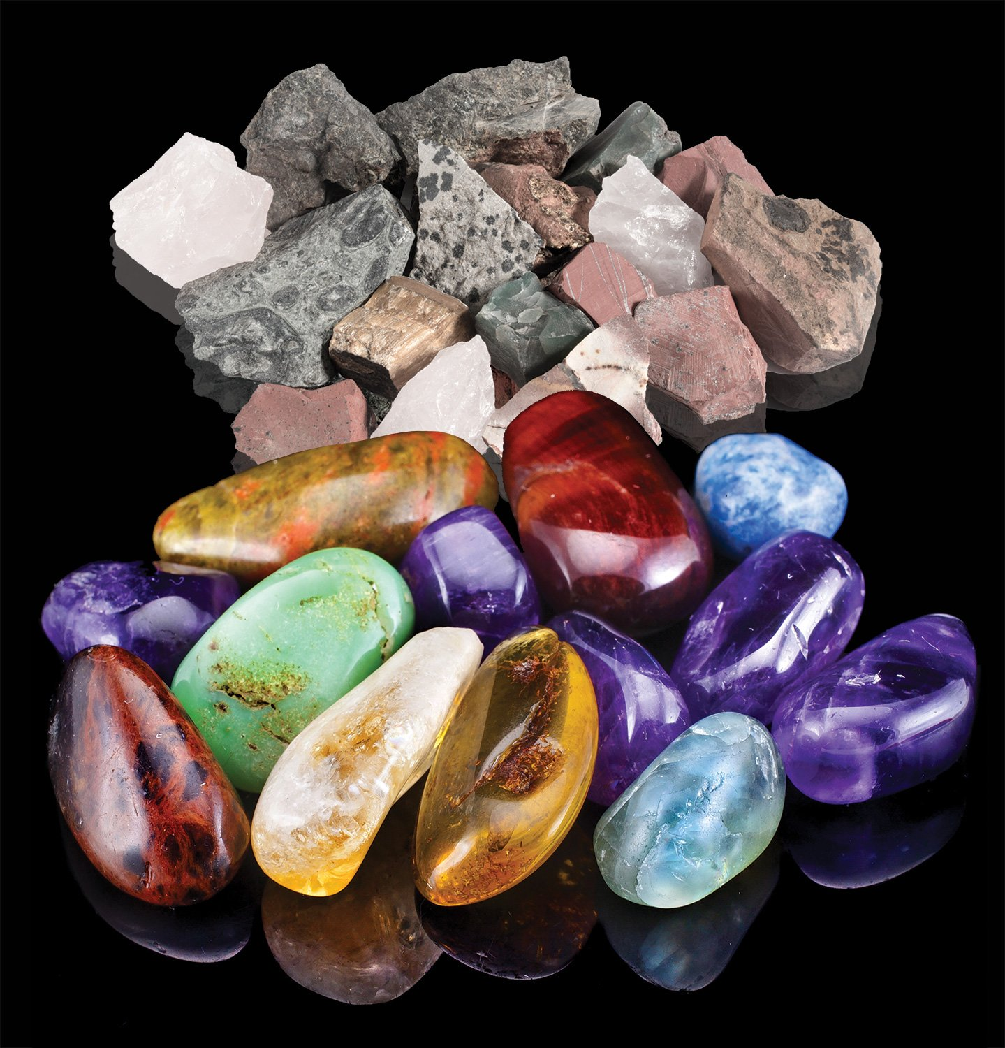 Amazon Discover With Dr Cool Rock Tumbler Set Turn Rocks