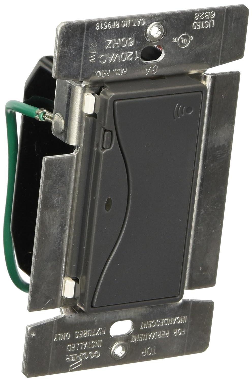 Eaton RF9518SG ASPIRE RF Single-Pole Wireless Light Switch, 8-Amp ...