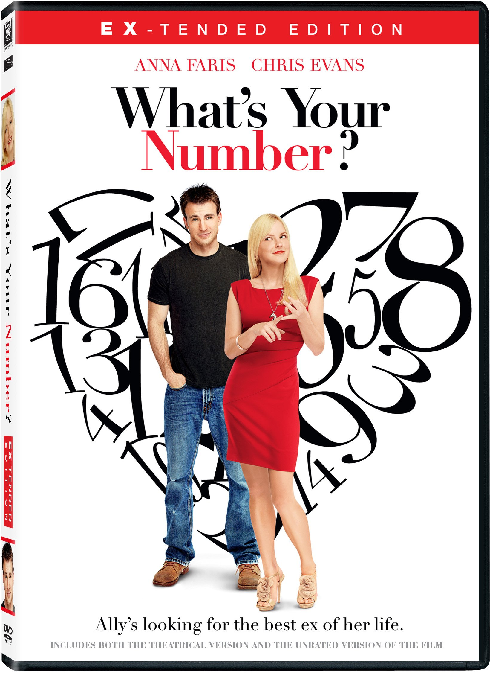 DVD : What's Your Number? (Dolby, AC-3, Dubbed, , Widescreen)