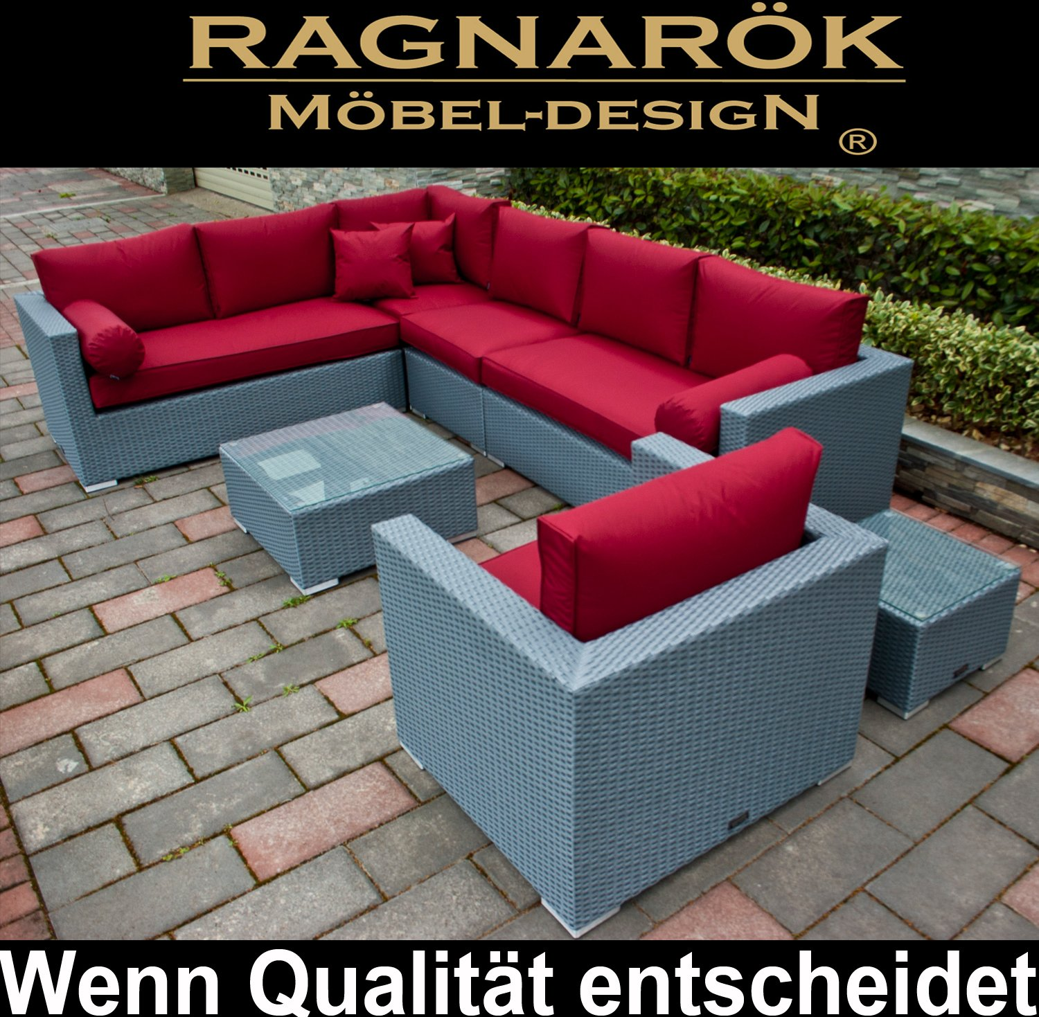 Polyrattan lounge deutsche marke eignene produktion for Design mobel bestellen