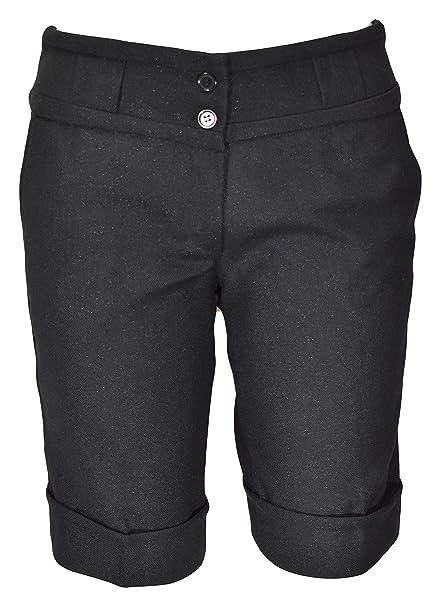NOROZE Womens Fleece 3//4 Shorts Ladies Capri Trousers