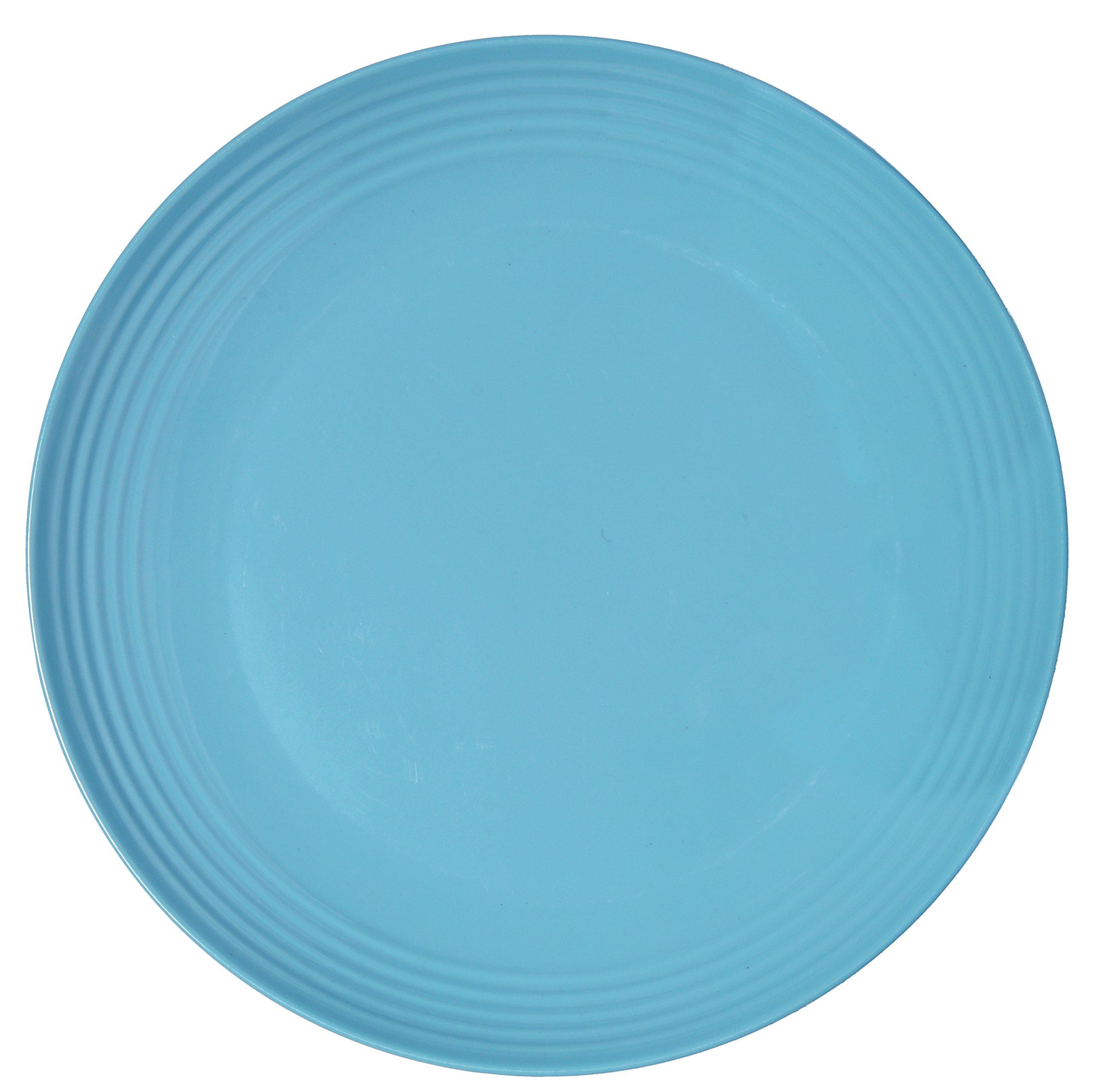 Melange 6-Piece Melamine Dinner Plate Set (Solids Collection) | Shatter-Proof and Chip-Resistant Melamine Dinner Plates 81nZ lRgw7L