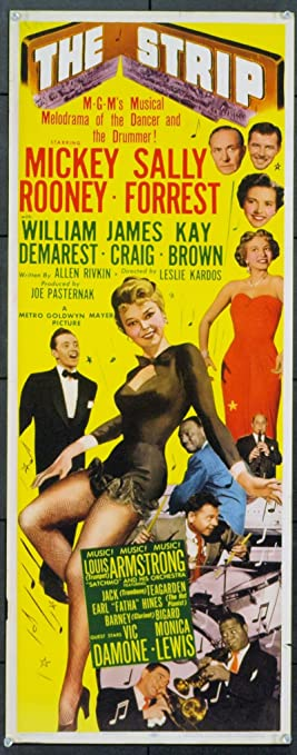 The Strip (1951) Original Movie Poster at Amazon's Entertainment  Collectibles Store