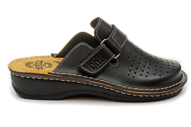 Dr Chaussons Dames Punto Rosso Femme BRIL D52 Sabots Mules Chaussons Chaussures en Cuir Femme Dames Noir 0bb020e - reprogrammed.space