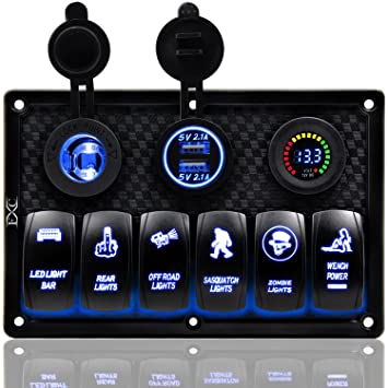 Atv,rv,boat & Other Vehicle Independent On-off Toggle Switch Control Panel Manual Intelligent 12v 24v Marine Panel Bilge Pump Control Switch For Boat Accessories With The Best Service Back To Search Resultsautomobiles & Motorcycles