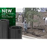 """Century Products 12"""" Root Barrier Rolls-10 linear feet"""