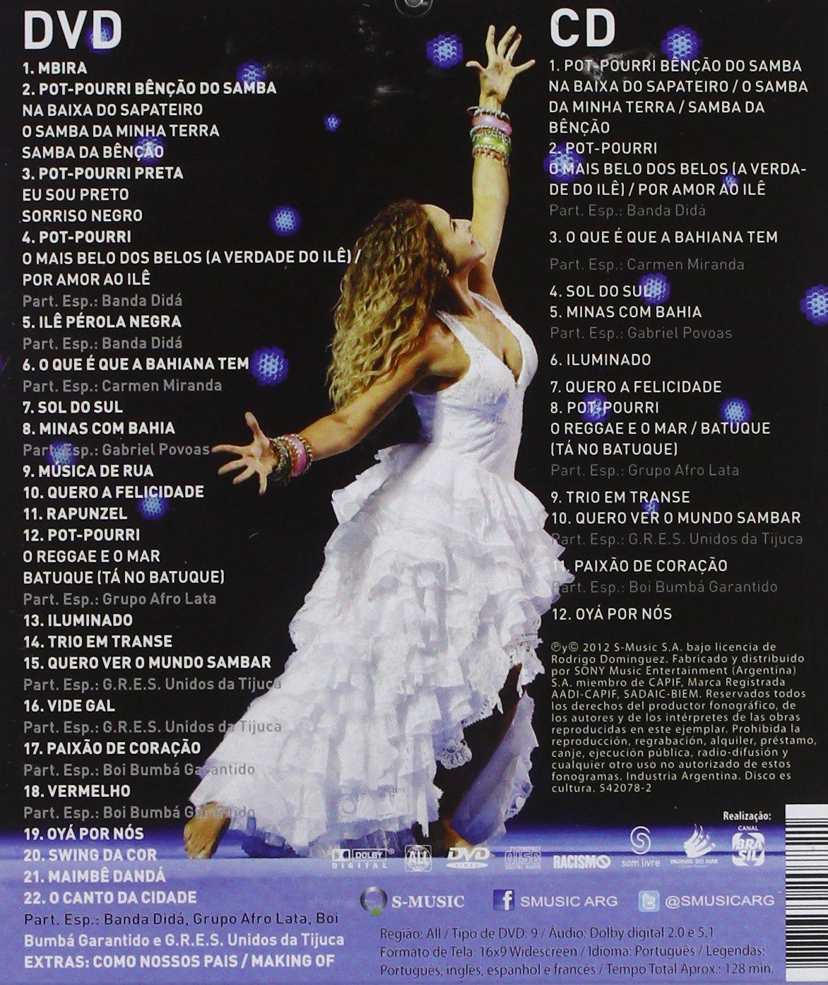 dvd caniblia ritmos do brasil