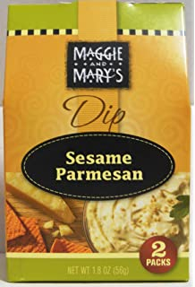 Maggie and Marys Sesame Parmesan Dip