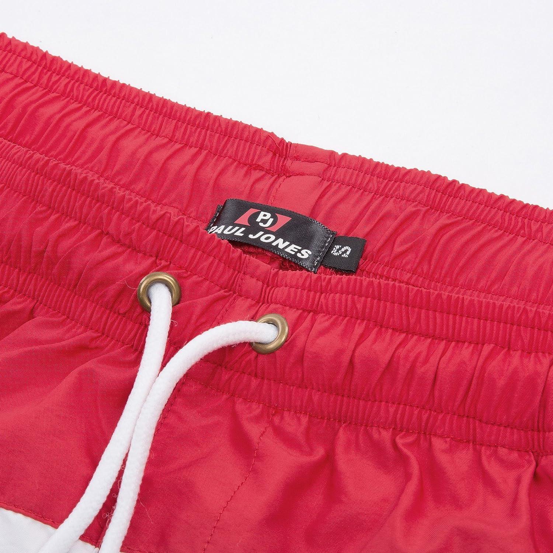 PaulJones Vendite Stock Vuoto Pantaloncini da Uomo Colore Contrasto Casuali Estate