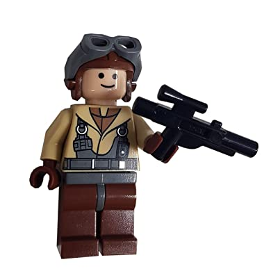 LEGO Star Wars LOOSE Mini Figure Naboo Pilot with Blaster: Toys & Games