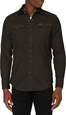 G-STAR RAW 3301 Slim Camisa para Hombre