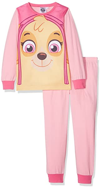 Paw Patrol Girls Skye PJ, Conjunto de Pijama para Niñas: Amazon.es: Ropa y accesorios