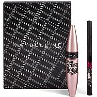 Maybelline New York Set de Maquillaje, Incluye Máscara de Pestañas Lash Sensational y Eyeliner Hyper Precise Waterproof