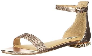 310958209bbb9 Badgley Mischka Women s Steffi Flat Sandal