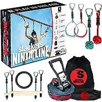 Slackers Slackers - NinjaLine 36' Intro Kit Outdoor Climbing Play