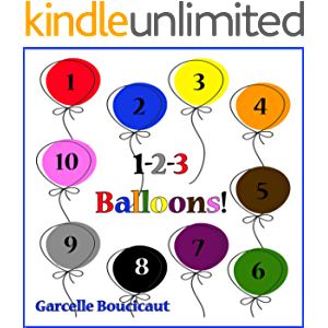 1-2-3 Balloons: Learn to Count Colorful Balloons