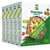 Veggie&Nature - Mezcla para bases de pizza vegana sin gluten, 165 g (5 paquetes)