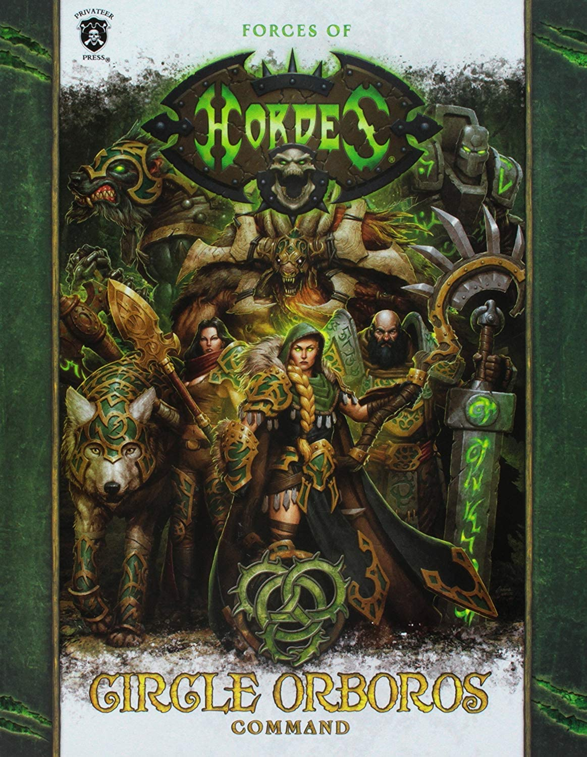 Privateer Press Hordes Forces of Hordes Circle of Orboros Command Sc (Book) Kit [並行輸入品]