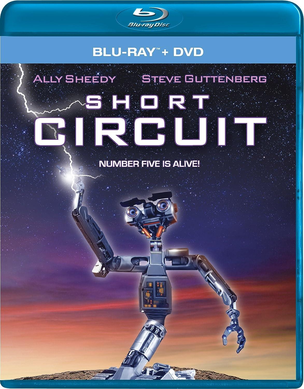 amazoncom short circuit dvd blu ray combo ally sheedy steve