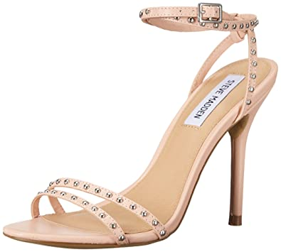 ab681cb0674 Steve Madden Women s Wish Dress Sandal Blush Leather 5.5 M US