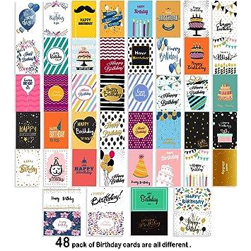 Amazon.com: Surtido de tarjetas de felicitación de ...