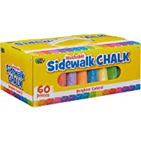 POOF 60-Piece Jumbo Sidewalk Chalk