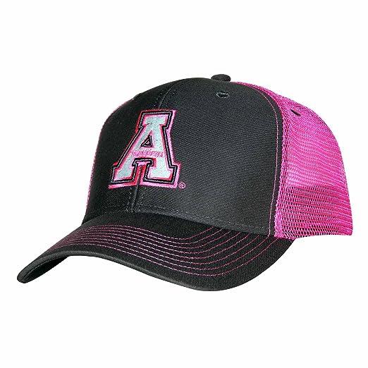 premium selection 9fcd2 ff133 Ouray Sportswear NCAA Appalachian State Mountaineers Sideline Cap,  Adjustable Size, Dark Grey Neon