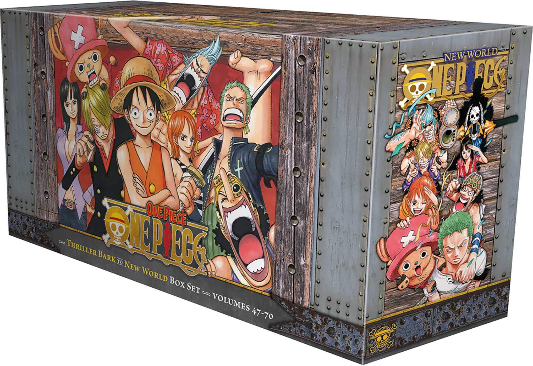 One Piece Box Set 3: Thriller Bark to New World, Volumes 47-70: Amazon.es: Oda, Eiichiro, Oda, Eiichiro: Libros en idiomas extranjeros