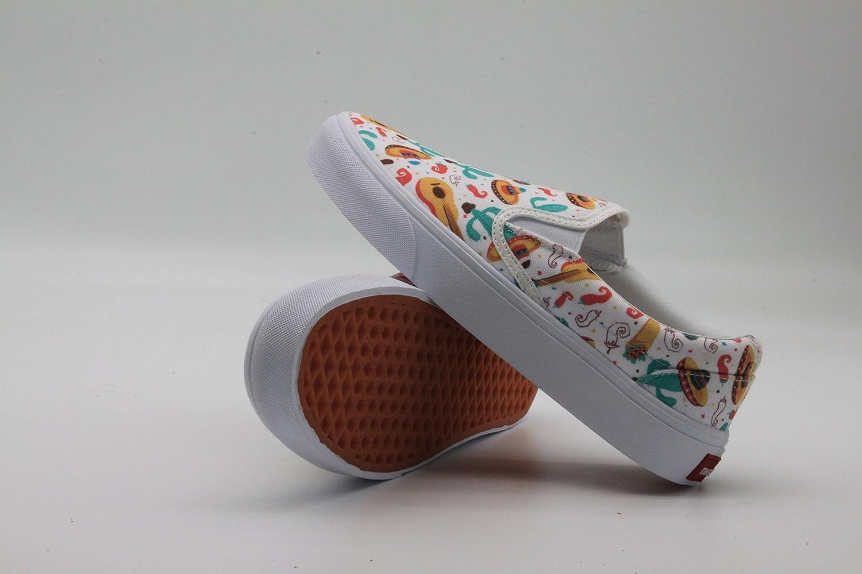 c85ff94ec3623 cozyshoeson Cinco de Mayo Fiesta Party Spanish Women Canvas Slip-On Shoes  Sneaker
