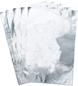 Mylar Food Storage Bags (10x16, 1 Gallon) 4.5mil Thick Mylar Foil Bag for Dry Food Storage (50 Pack)