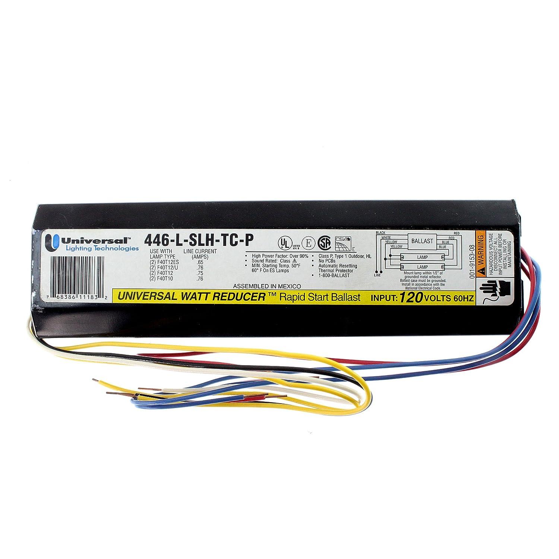 Universal 446-l-slh-tc-p fluoreszierend Vorschaltgerät, 2 Lampe ...