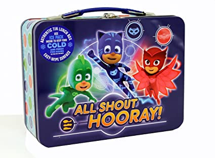 The Tin Box Company 604707-DS Pj Masks Classic Lunchbox, Blue