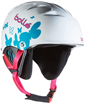 Bollé Casco de esquí B de Kid Shiny White Butterfly, 49 – 53 cm,