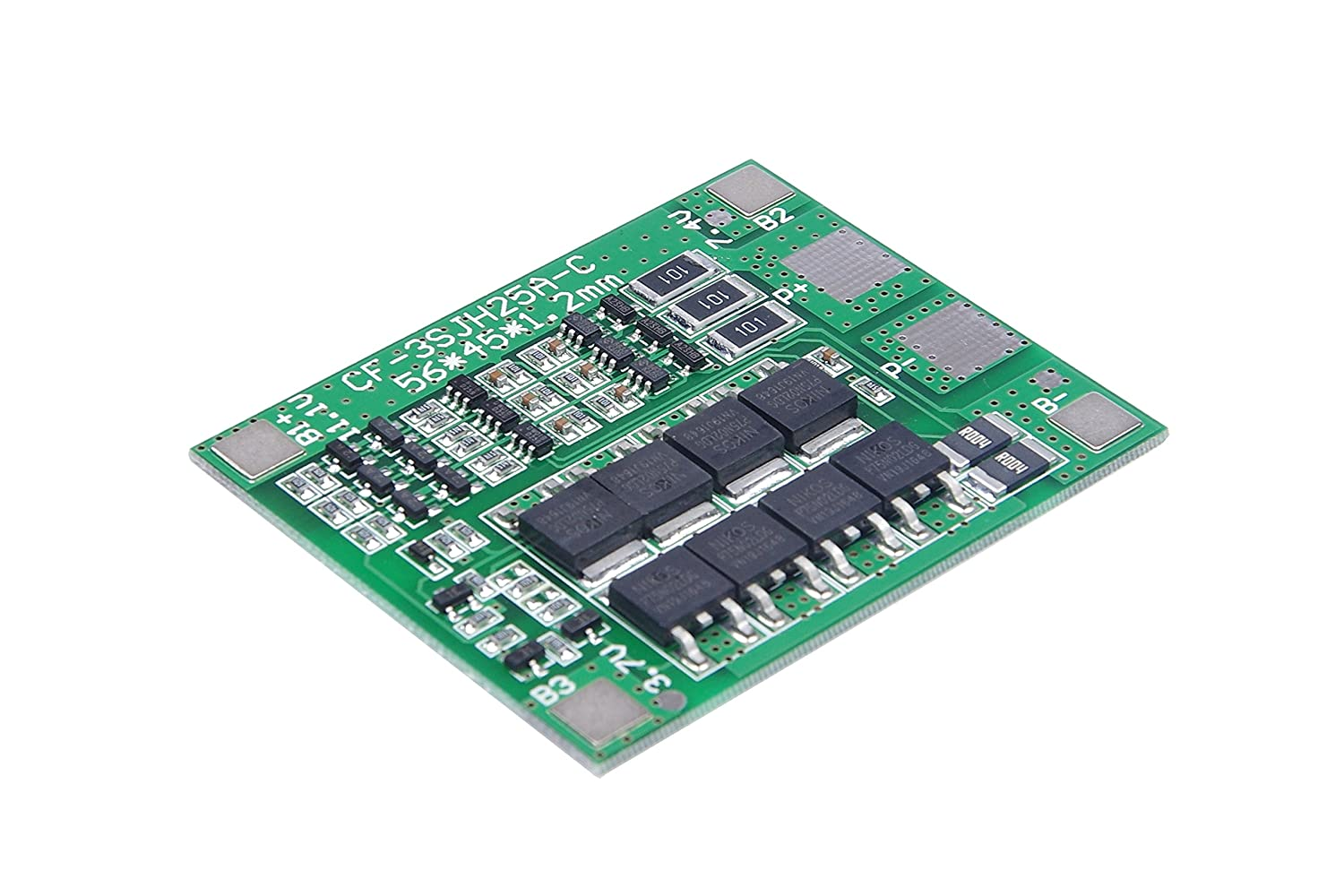 Knacro 3s 37v Lithium Battery Protection Board 25a Max Rechargeable Lithiumion Batteries With Circuit Pcb Balanced For 3 String Electric Toys Ups Home Audio