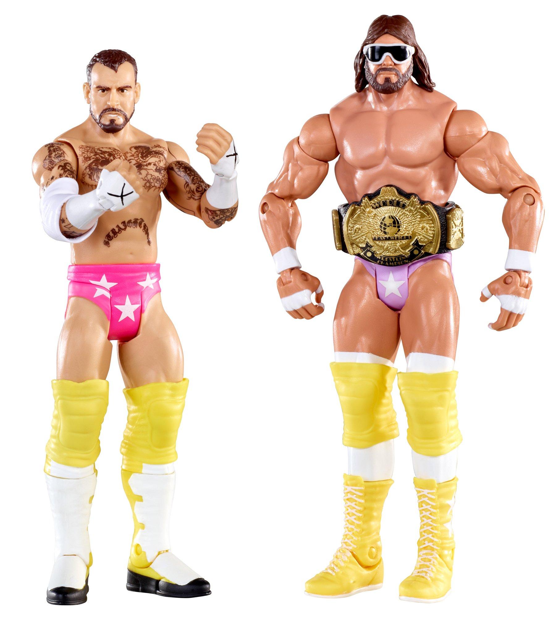 WWE Battle Pack: Randy Savage vs. CM Punk Figure 2-Pack Series 14 by WWE