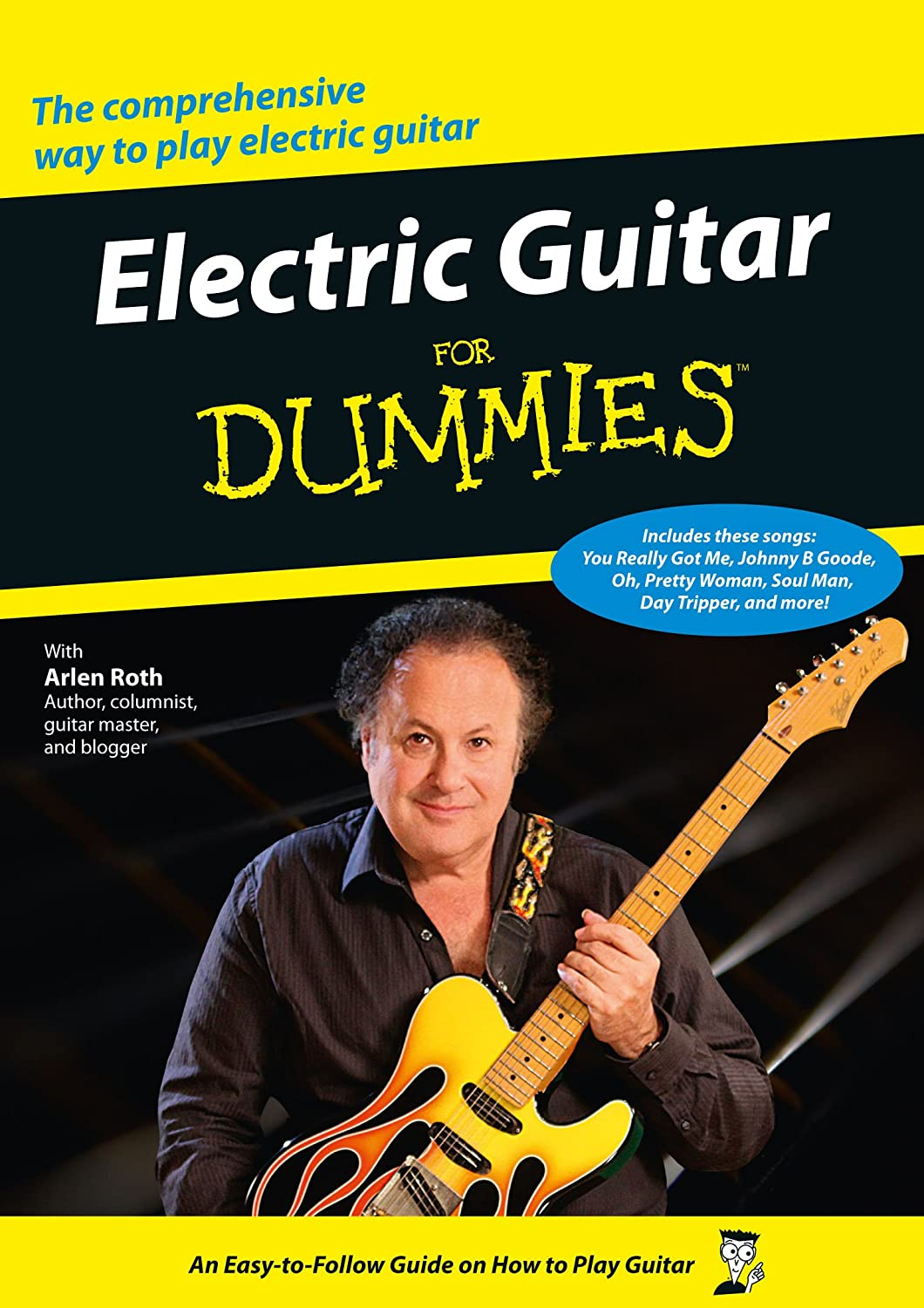 Electric Guitar for Dummies [DVD]: Amazon.co.uk: Arlen Roth, Dennis ...
