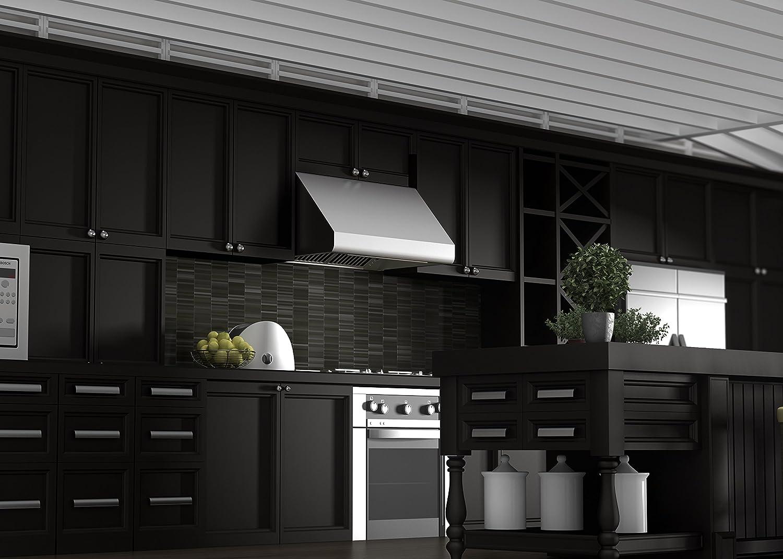 Amazon.com: Z Line 686 36 LED Under Cabinet Range Hood, 36 Inch: Appliances