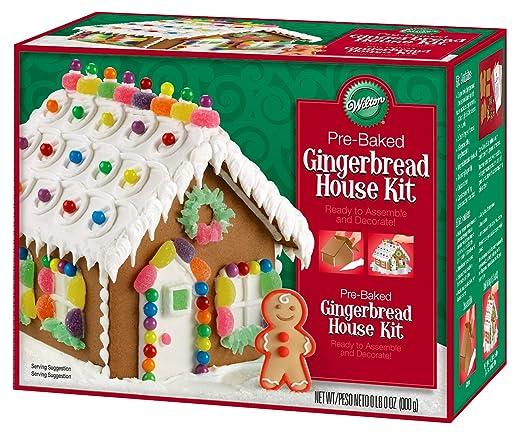 Christmas Gingerbread House Kit.Wilton Petite Pre Baked Gingerbread House Kit