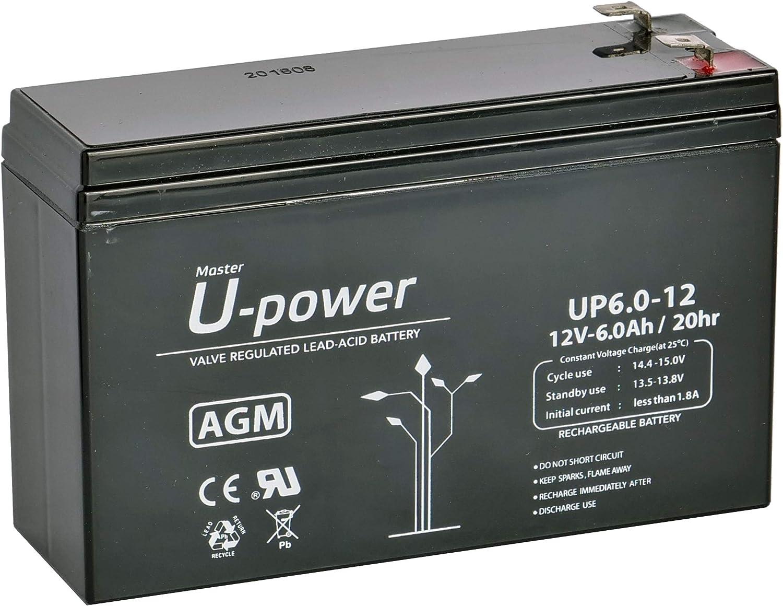 Bateria Plomo AGM 6Ah 12V