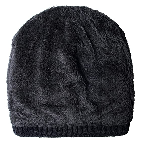 0adb098fd50 Loritta Mens Winter Warm Knitting Hats Wool Baggy Slouchy Beanie Hat Skull  Cap at Amazon Men s Clothing store