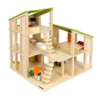 Kledio Wooden Toys For Kids Wooden Dolls House For Boys And Girls