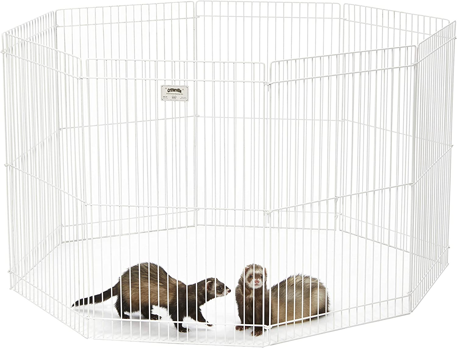 MidWest Homes for Pets Deluxe Ferret Nation Small Animal Cages, Ferret Nation Cages Include 1-Year Manufacturing Warranty